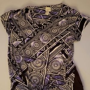 Party Pattern Top